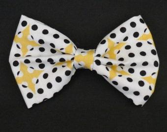 Yellow & Black Bow