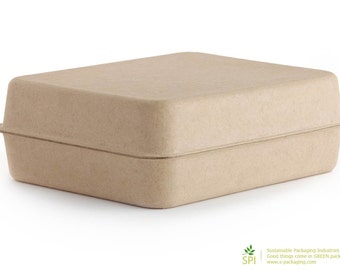 LARGE (GK-005) - Eco Friendly and Stylish Green Packaging for T-Shirts, Scarves, Gifts and more...