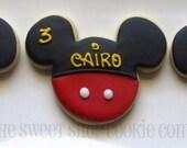 Mouse Ear Cookies 3 dozen