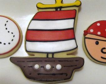 Pirate cookies 2 dozen
