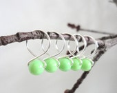 Honeydew - Snag Free Knitting Stitch Markers (Medium) - Fit up to size 11 US (8.0 mm)
