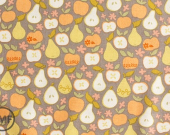 Clementine In the Orchard in Taupe, Ana Davis, 100% Cotton Fabric, Blend Fabrics, 113.104.06.1