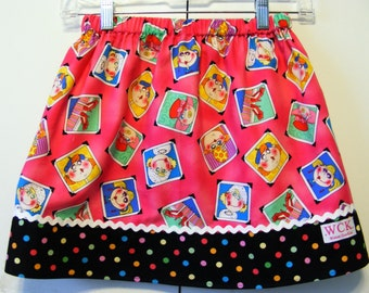 Clearance Mommy See How Pretty I am  Skirt  ( 2T,  3T, 4T, 5, 6)