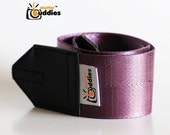 Retro Upcycled Recycled Seat Belt Camera Strap, Nikon Camera Strap, Purple Camera Strap, Simple Camera Strap | Purple