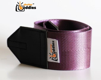 Seat Belt Camera Strap, Nikon Camera Strap, Purple Camera Strap, Simple Camera Strap | Purple