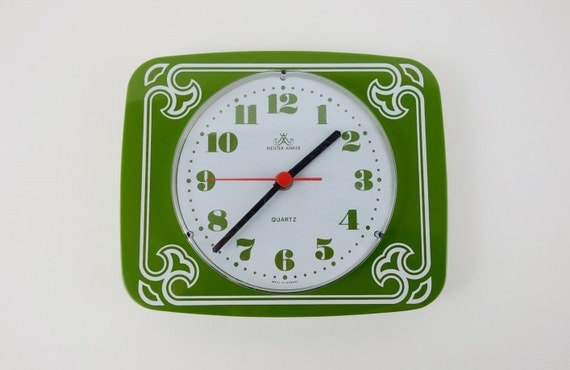 Vintage German Wall Clock from Meister Anker
