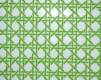 vintage lattice wallpaper | etsy