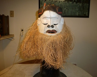 African Full Head Ceremonial Mask