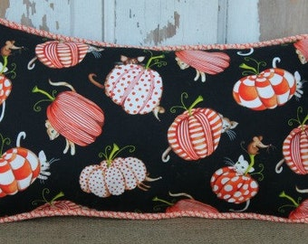 Bright, Cheerful Pumpkin Pillow