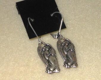 Angels of Harmony/Christmas earrings/pierced
