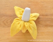 Washcloth Banana, WashAgami ™, Instructional Video, Diaper Cake Topper (New HD quality video)
