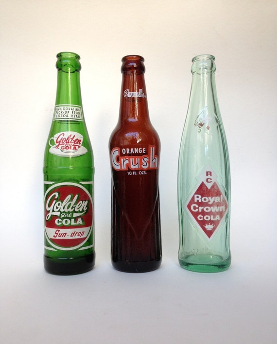 Instant Collection of Vintage Soda Bottles