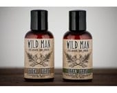Mens Grooming Kit - Wild Man SHAVING Gift Set - with Shaving Soap and After Shave