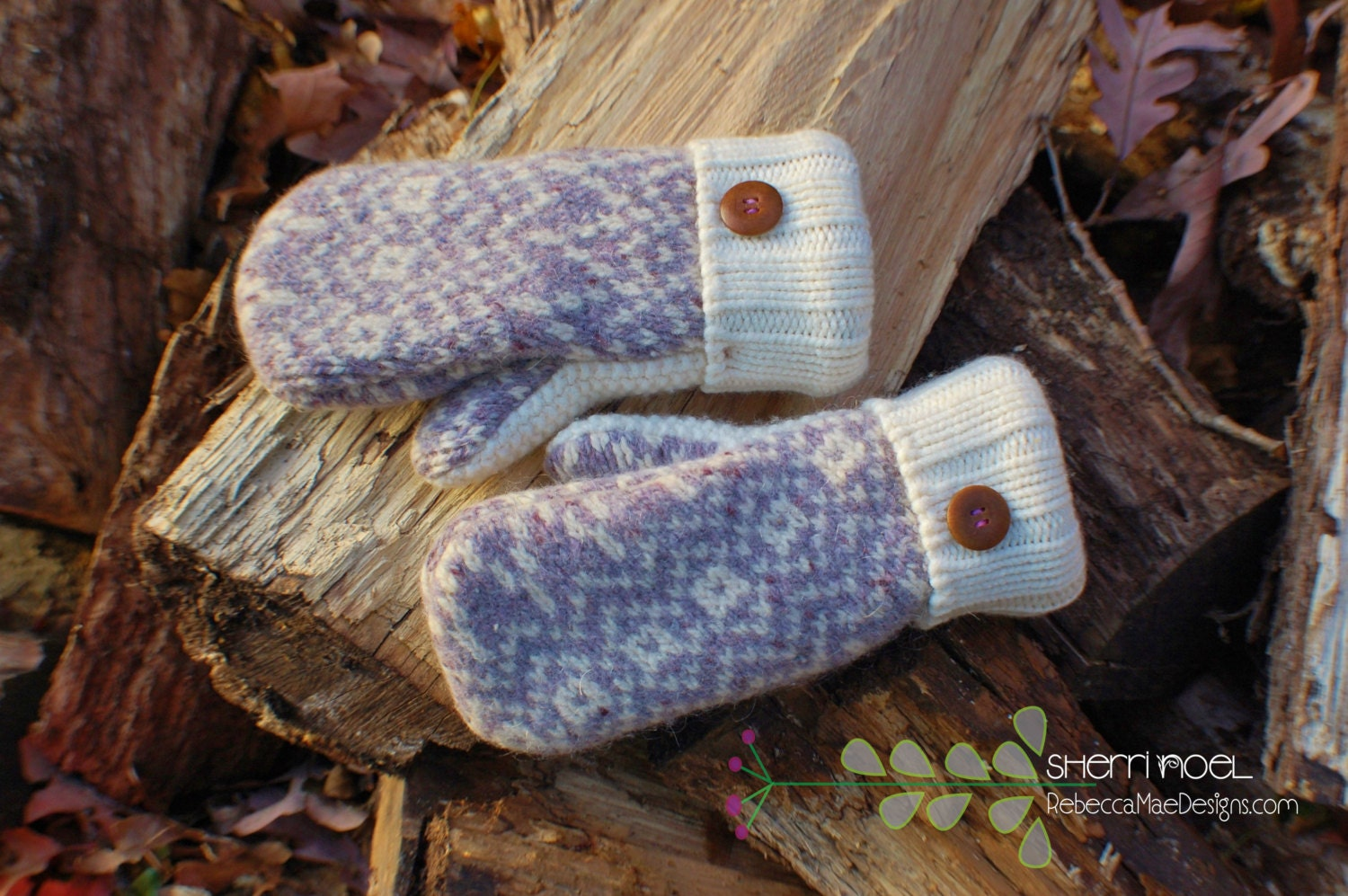 PDF MITTEN PATTERN How To Make Mittens From Upcycled Felted