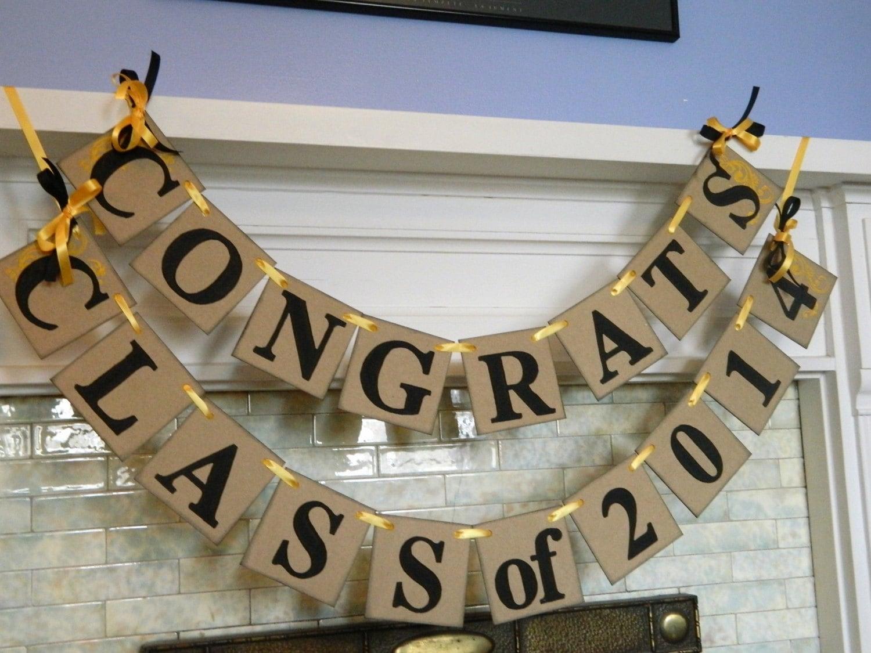 Graduation Decorations Class Of 2017 Banner Graduation Party Decorations High