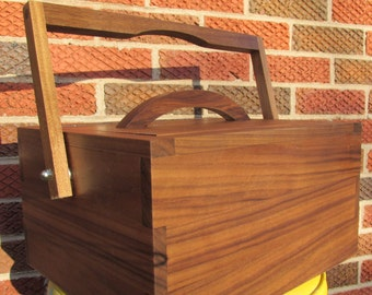 Beer Cooler by ParkHillCountry Walnut Wood