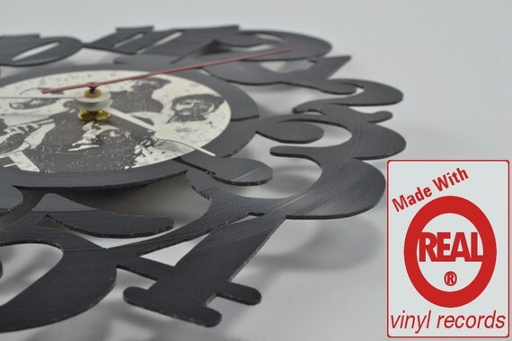 Vinyl Record Album Wall Clock (artist is Oral Roberts)