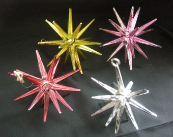 Retro vintage STAR ornaments