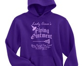 Lady Circe's Flying Ointment Hoodie Sweatshirt - Small to 5X