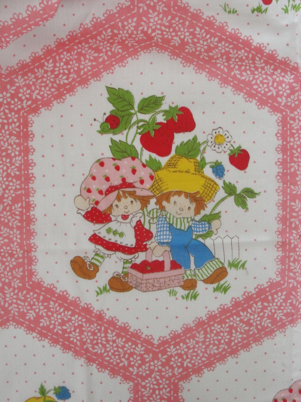 Vintage Strawberry Shortcake Fabric 31