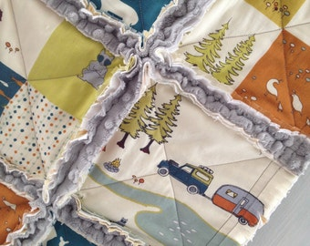 """RESERVE fabrics & build your own """"Woodlands themed Twin,OR Toddler sized bedding"""" created in """"100%  ORGANIC Cotton"""""""