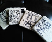 Paris Theme Coasters