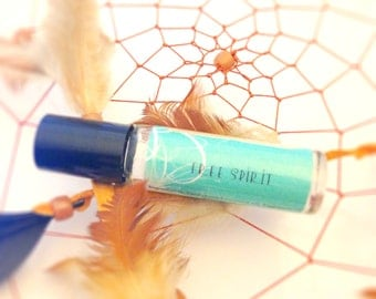 Free Spirit - Perfume Oil - Gypsy, Boho, Hippie, Woodsy, Herbal Roll On Perfume Oil - 8mL