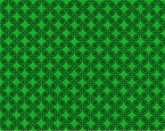 85073  -  Michael Miller - Tiny Tiles in emerald  color - 1 yard