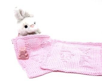 Pink Pullover 'Love' baby  gir bib set wash cloth newborn no-scratch mitt set 3 piece baby gifts under 30