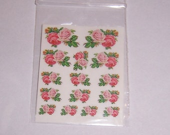 dollhouse  labels paper decal