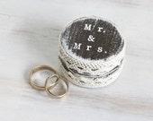 Ring Bearer Box, Wedding Ring Pillow / Box, Weding Box, Mr. and Mrs. Pillow Alternative Brown Ring Bearer Box,  , Еngagement box, ohtteam