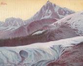 The Alps - Vintage Postcard - Unused (EE)