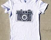 camera tshirt holga