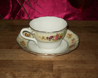 Teacup Set- Made in England by Ovington Brothers Coalport