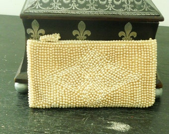 La Regale Small Beaded Clutch  Handbag