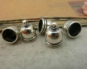 20pcs 12x16mm Silver Color Cap C5283