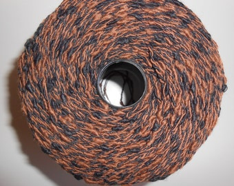 Bouclè Yarn Brown/Black Skein 7oz
