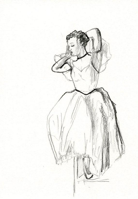 Dibujos A Lapiz De Bailarina De Ballet Imagui