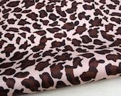 "W052B - Vinyl Waterproof Fabric - Panther Spot (big picture)  - 27"" x 19"" (70cm x 50cm)"