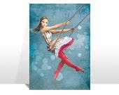 """Postcard """"CIRCUS DREAM n.2"""""""