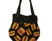 Burger & Fries Shoulder Bag