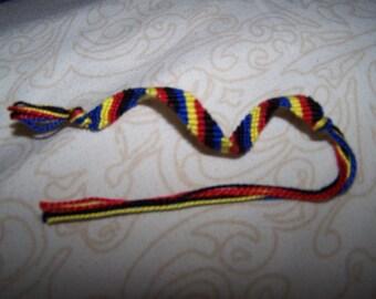 Polyamory Pride Friendship Bracelet
