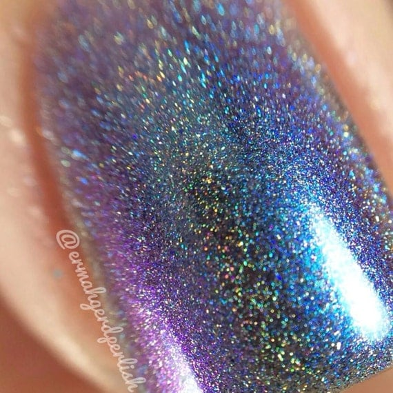 Spectrum Holographic Nail Polish: Intelligent Design Holographic Multi Chrome Color By