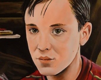 """Stand By Me - Geordie - Wil Wheton - Art Print Reproduction 10"""" x 12"""" - signed by Artist"""
