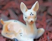 Vintage Ceramic Deer/ Fawn Figurine