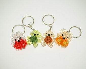 Beaded Koala Bear, Beaded Keychain, Beaded Koala, Australian Animal, Cute Koala, Beaded Koala, Beaded Animal Keychain, Mini Koala Bear Beads