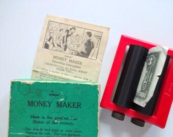 Vintage Adam's Money Maker Magic Trick 1950s