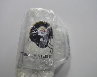 Vintage Pittsburgh Steelers Beer Stein 1991