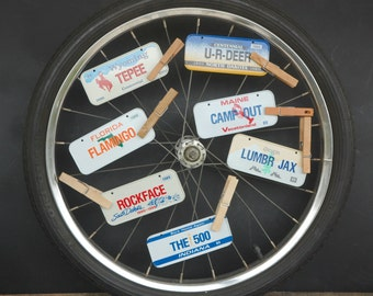 Vintage Mini Bike License  Plates Cereal Promotion Your Choice of One