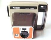 "Vintage Kodak ""Pleaser"" Instant Camera with Manual"